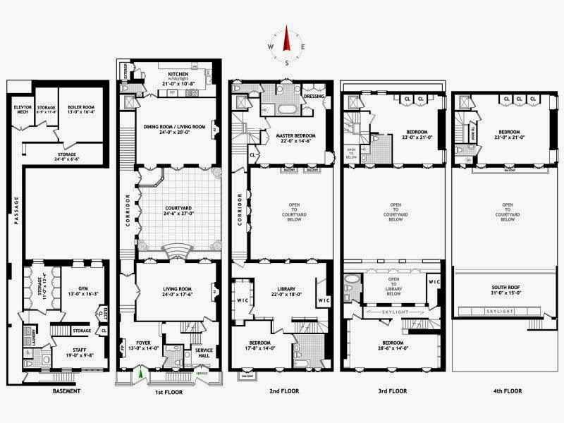 Floor plan of a NYC home