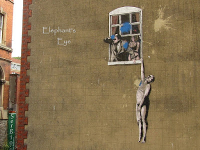 Banksy Well Hung Lover