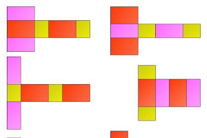 Gambar Jaring-jaring Balok Lengkap