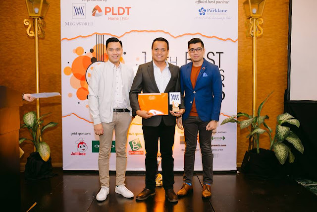 Top Blogger of 2017 by Megaworld Corporation - Ian Limpangog of Freedomwall.net
