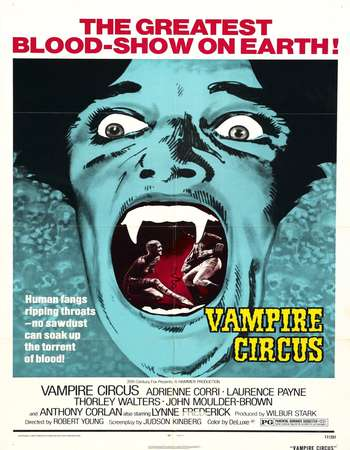 Vampire Circus 1972 Dual Audio 720p UNRATED BRRip [Hindi – English]
