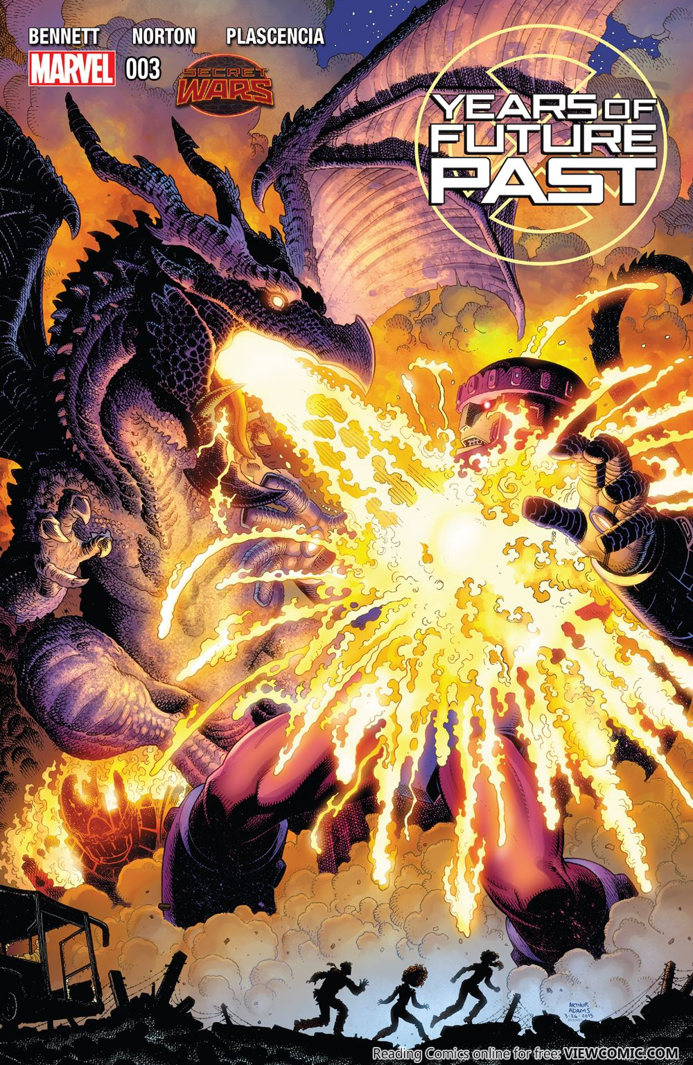 Years of Future Past 003 (2015) ……………… | Viewcomic reading