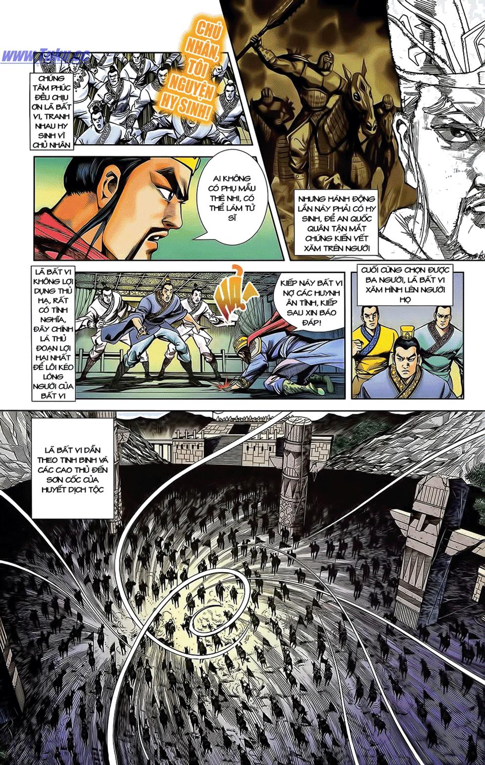 Tần Vương Doanh Chính chapter 12 trang 9
