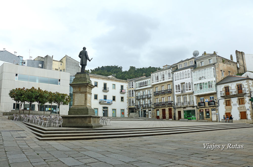 Plaza Mayor de Viveiro, Lugo