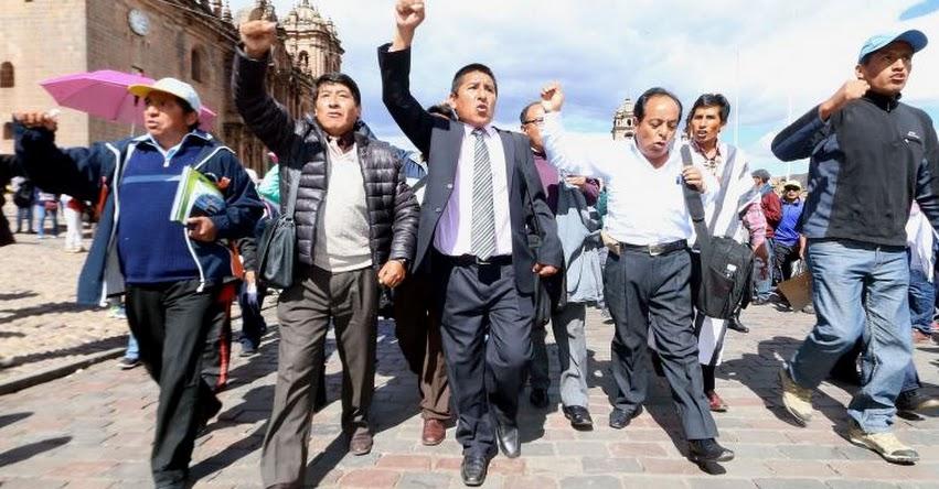 Profesores confirman que siguen con huelga indefinida y rechazan propuesta del MINEDU