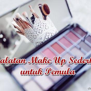 Peralatan Make Up Sederhana untuk Pemula