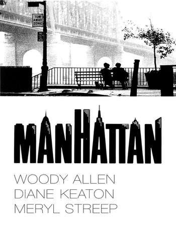 Poster Of Manhattan 1979 English 300MB BRRip 480p ESubs Watch Online Free Download Worldfree4u