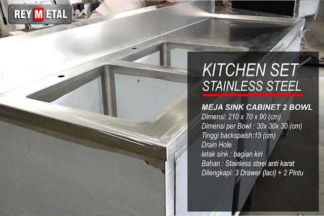 Jual Kitchen Set Stainless di Depok Jawa Barat