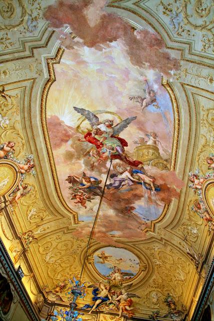 affreschi, disegni, pitture, volta