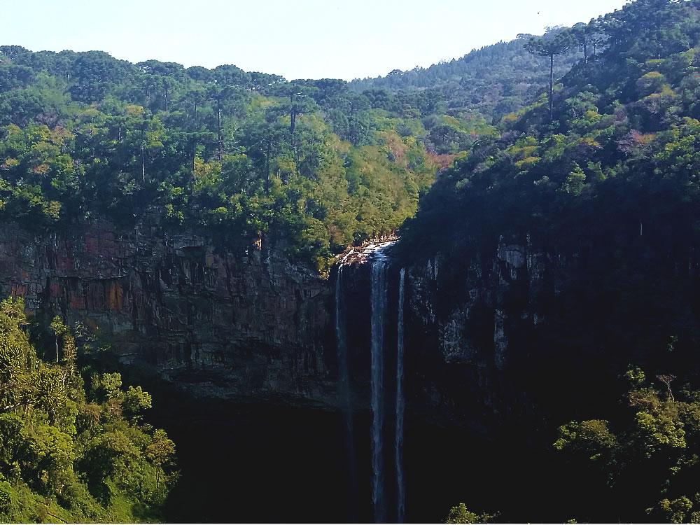 Cascata do Caracol - Bondinhos Aéreos Canela