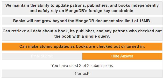 mongodb dba homework 4.3 answer