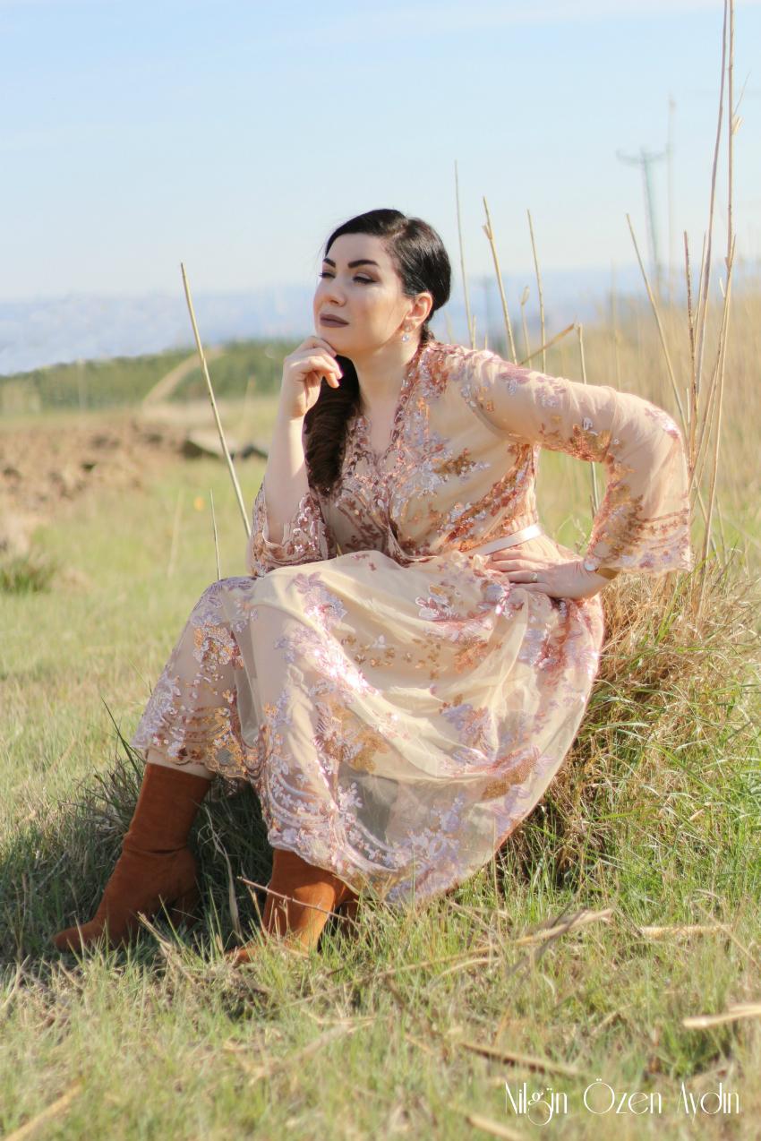 alışveriş-Payetli Elbise-Shein-moda blogu-fashion blog