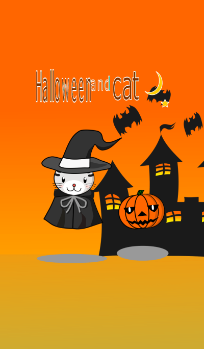 It is halloween and cats.