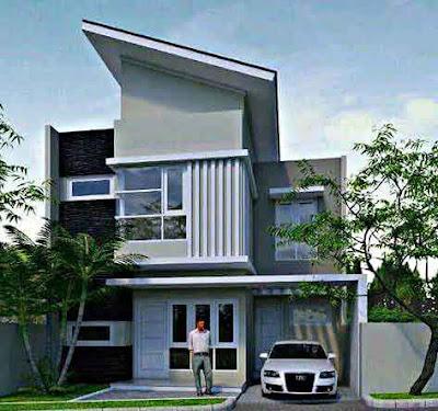 Inspirasi Model Desain Rumah Minimalis yang Bagus dan Elegan 2 Lantai