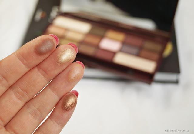tanie a dobre cienie Makeup Revolution
