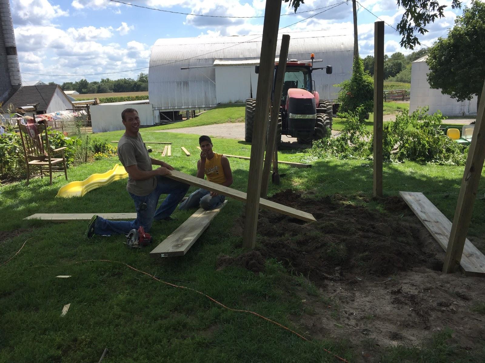 life as a bontrager family in iowa september recap