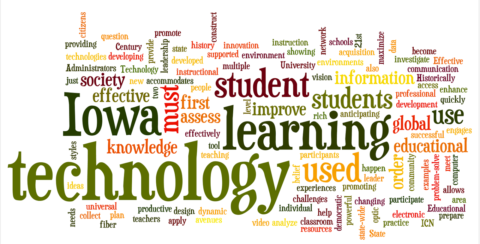 Iowa department of education educational technology plan 2009 2013