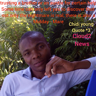 Chidi Young ,Pictures , Quote , August Break