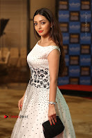 Actress Pooja Salvi Stills in White Dress at SIIMA Short Film Awards 2017 .COM 0127.JPG