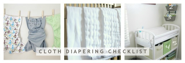 Cloth Diapering Checklist