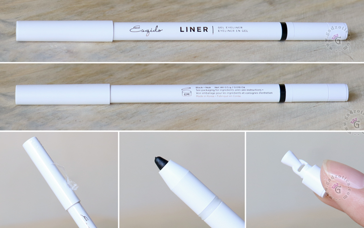 ESQIDO Gel Eyeliner Pencil Review
