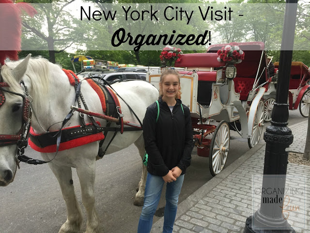 New York City Visiting Tips Organized