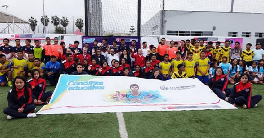 MINEDU: Ministro Alfaro clausura etapa macrorregional Lima de Juegos Deportivos Escolares - www.minedu.gob.pe
