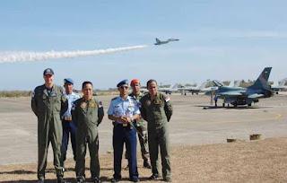 Mantap .. Karena Lokasinya Strategis Kini Lanud El Tari Jadi Basis Latihan Terbang Internasional - Commando