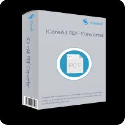 تحميل ICAREALL PDF CONVERTER مجانا لتحويل PDF إلى WORD, EXCEL, PPT, TXT مع كود التفعيل