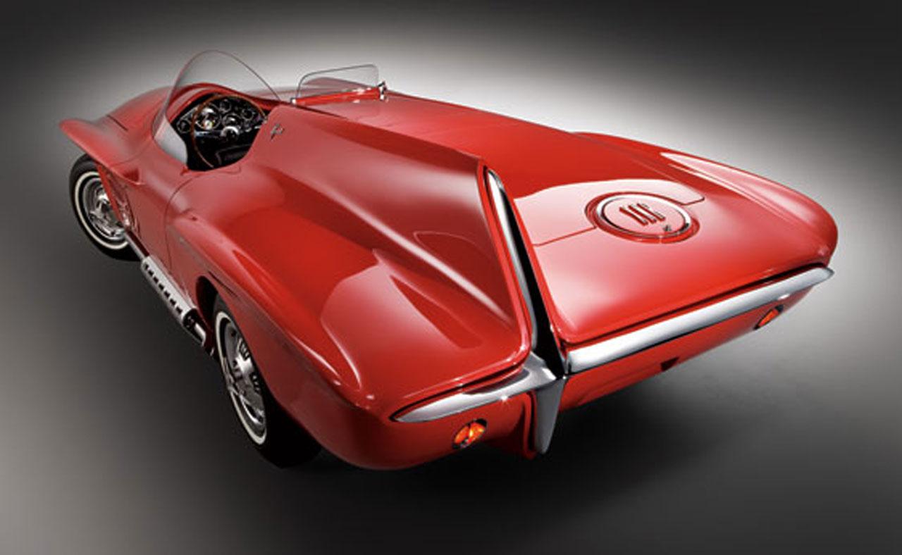 FAB WHEELS DIGEST (F.W.D.): 1960 Plymouth XNR Concept