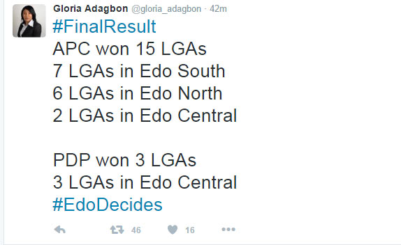 #EdoDecides: Conflicting results filter in from INEC HQ