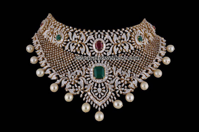 Diamond Sets by PSatyanarayana Jewellers