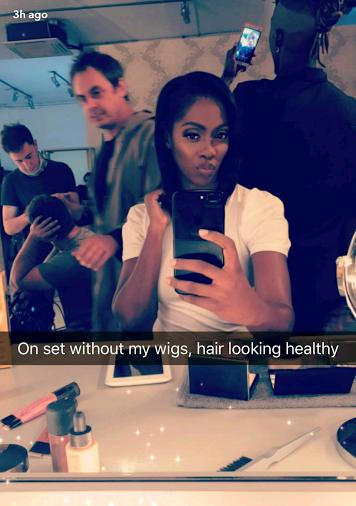 Gorgeous and Charming Tiwa Savage flaunts new Hair (Checkout Photos)