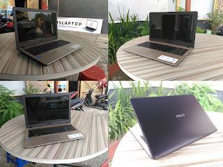 laptop bekas asus x450na celeron