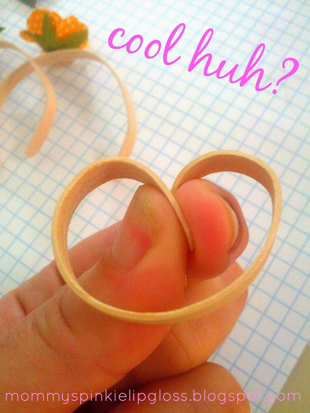Bangle Bracelet DIY, popsicle stick craft