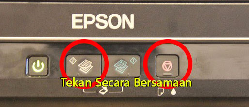 cara scan di printer epson