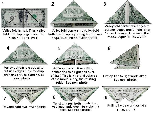 Simple Dollar Bill Origami