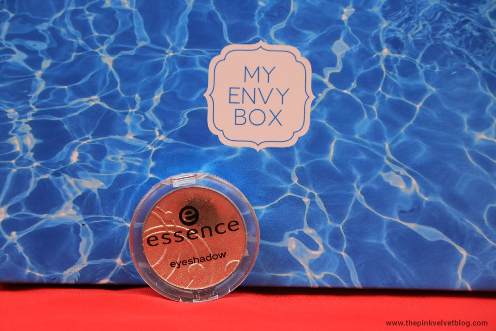june my envy box essence eye shadow