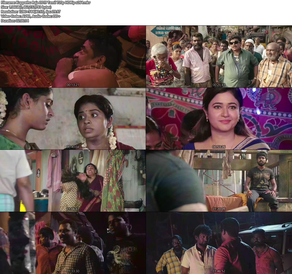 Kuppathu Raja 2019 Tamil 720p HDRip x264 | 480p 300MB | 100MB HEVC Screenshot