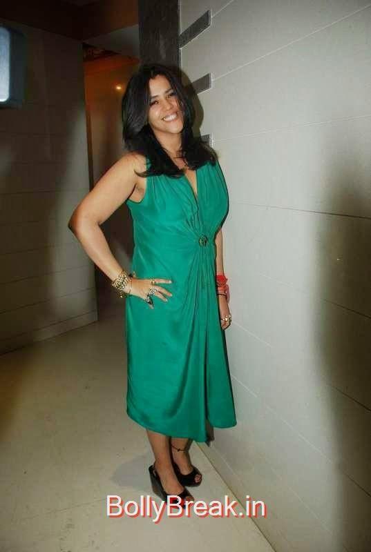 Ekta Kapoor at Teejay Sidhu and Karanvir Bohra's housewarming party, Sunny Leone, Neha Dhupia, Sonakshi Sinha Snapped At DIfferent Events