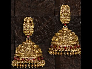 Gold Jhumkas - Zaamor Diamonds