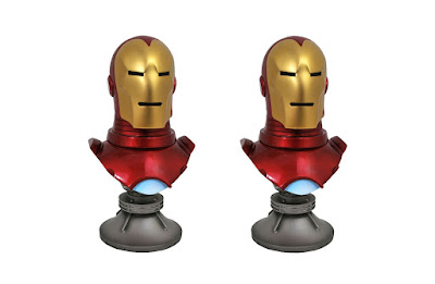 Iron Man Legends in 3D ½ Scale Resin Bust by Diamond Select Toys x Marvel
