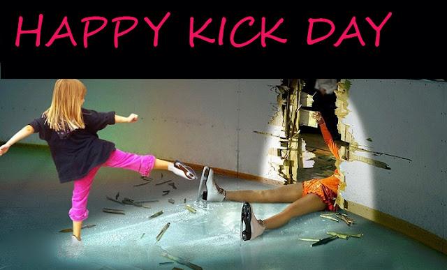 Anti-Valentine Kick day Messages
