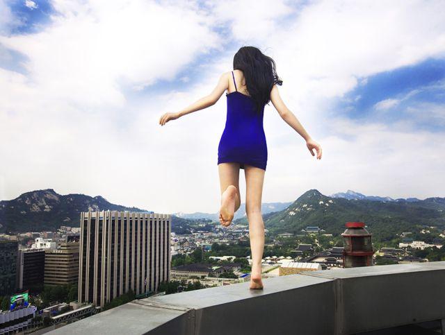 Wanita terjun bangunan, sempat beritahu hasrat kepada rakan