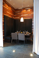 ROOM's private dining area