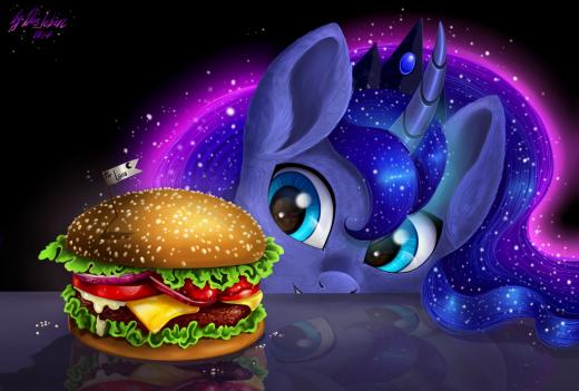 Luna's breakfast by Das-Leben