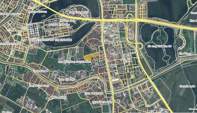 chung cư h35x13 osaka hoàng liệt nằm trong khu đô thị linh đàm