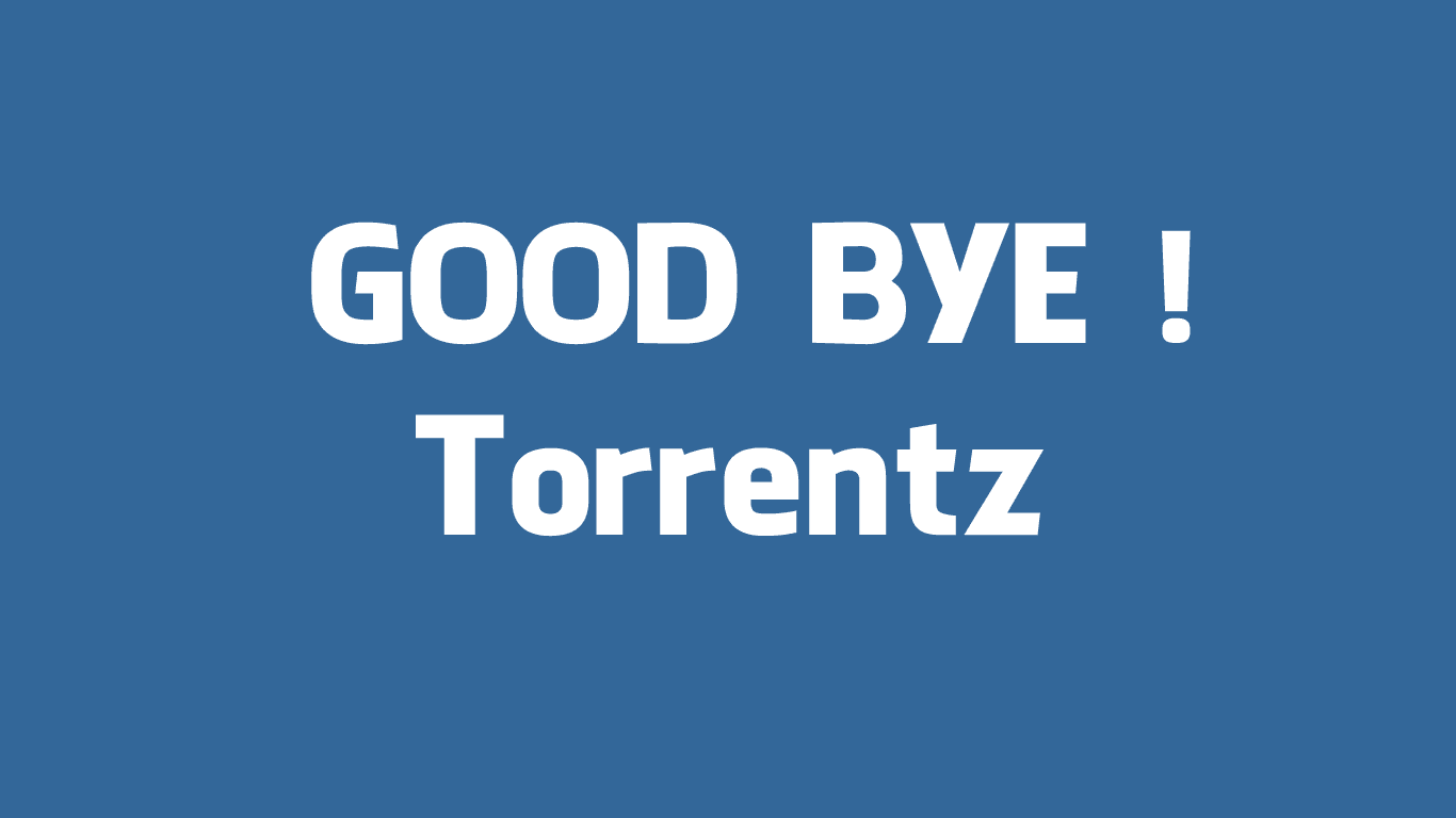 Torrentz Announced Farewell