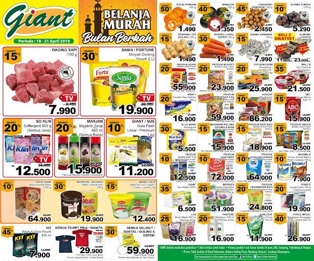 #Giant - #Promo #Katalog Giant Ekstra dan Ekspres Periode 18 - 21 April 2019