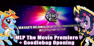 MLP Merch at Dutch My Little Pony The Movie Premiere